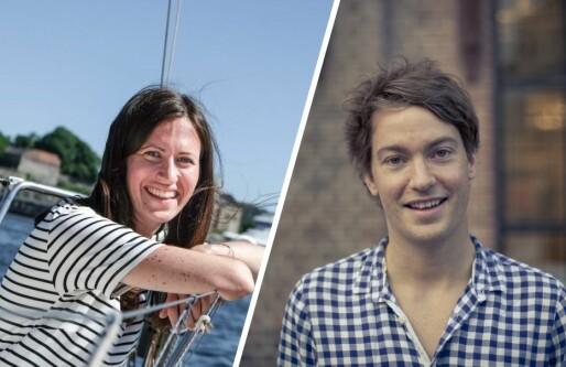Gründer-profilene Marie Mostad og Christian Mikalsen inn i milliardfondets «speidernettverk»