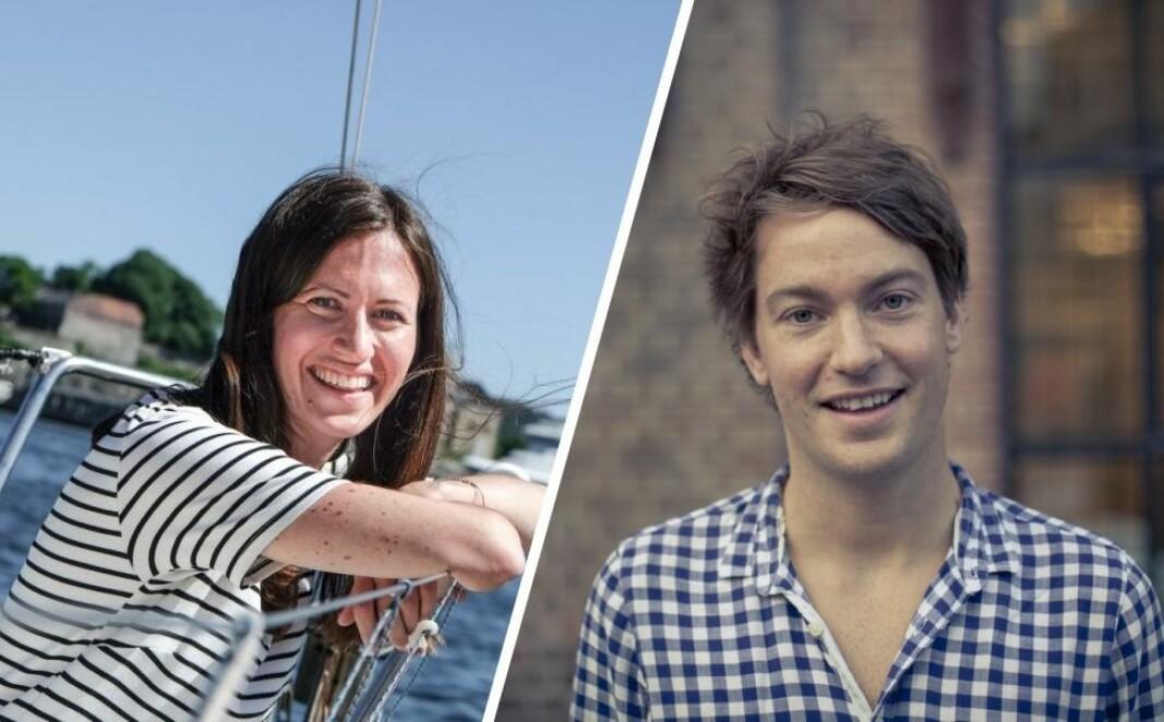 Medgründerne i henholdsvis Inzpire.me og Kolonial, Marie Mostad og Christian Mikalsen, går inn i investornettverket til byFounders.