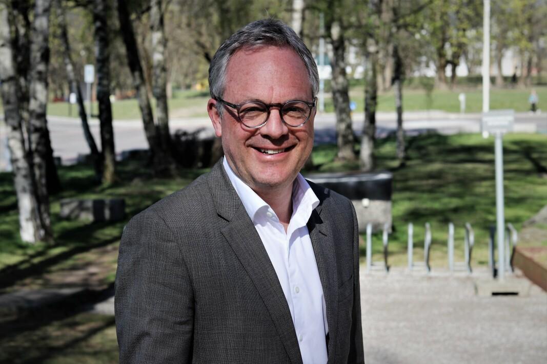 Abelia-sjef Øystein E. Søreide.