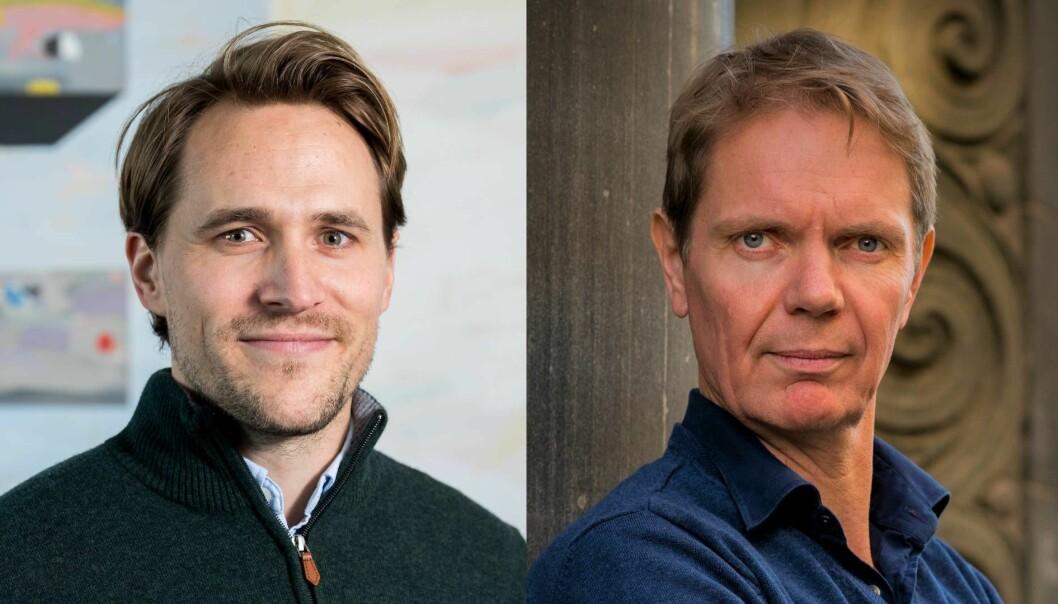 For Andreas Talseth (t.v.), daglig leder i Kredd og Andreas Gyrre, initiativtaker til Perx og midlertidlig leder for selskapet, var 2020 ikke noe fantastisk år. Å folkefinansiere lån til privatpersoner var en tøff oppgave i koronatider