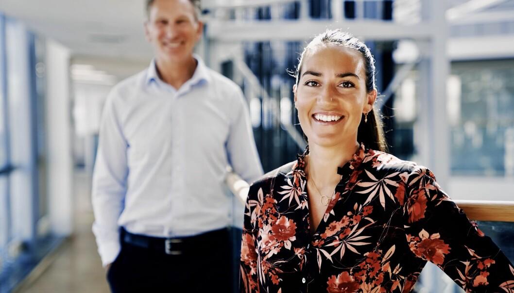 Alma Larsen og Håvard Lindtvedt fra Startup & Growth i Nordea anbefaler Nordea Boost for å få oversikt over egen pensjon.