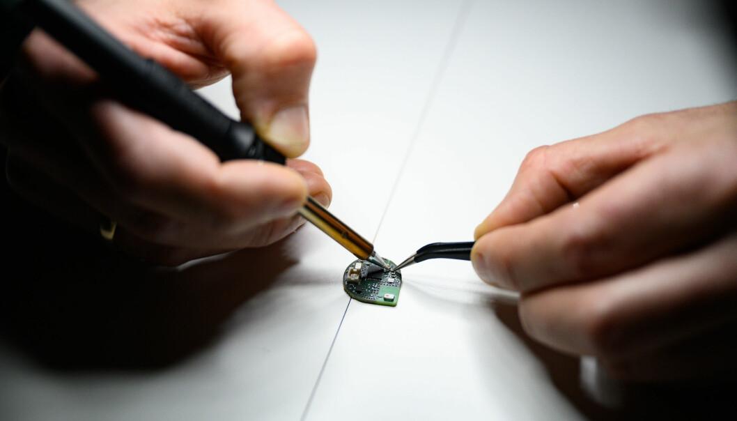 Gründerbedriften Onio har blant annet funnet opp et plaster som fungerer som et trådløst termometer.