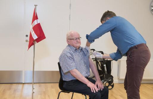 Danmark utvikler digitalt vaksinepass