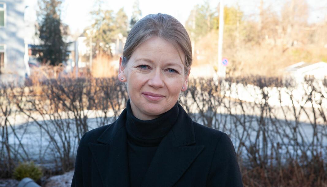 Visesentralbanksjef Ida Wolden Bache .
