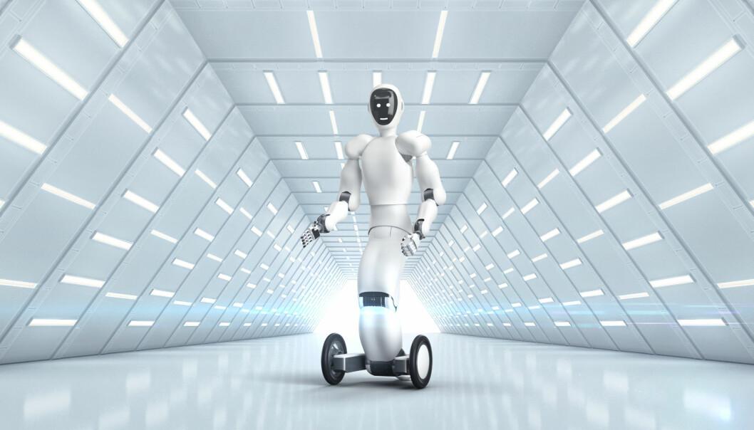 Halodi Robotics utvikler menneskelignende, såkalt humanoide, roboter.