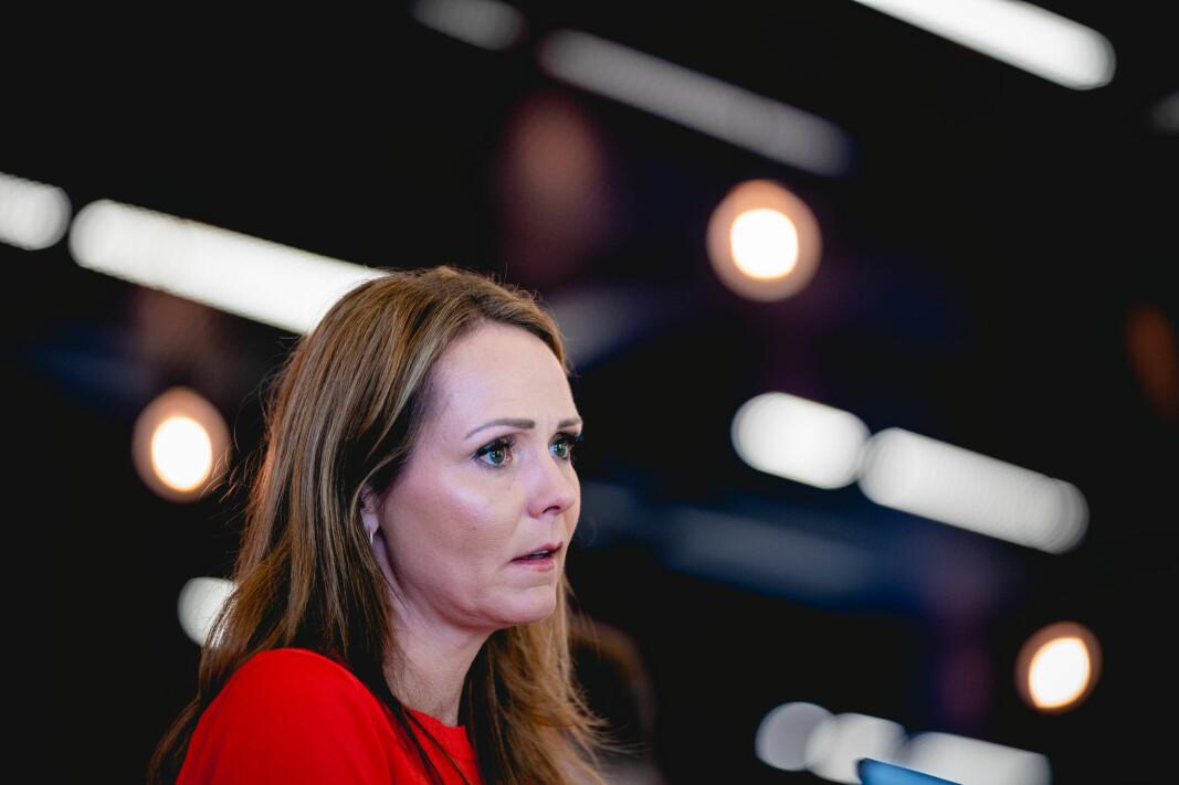Digitaliseringsminister Linda Hofstad Helleland avholdt innspillsmøte om datadrevet økonomi og innovasjon i den personvern-kritiserte appen Clubhouse.