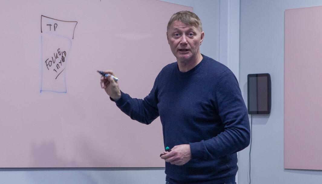 Asbjørn Erdal, daglig leder i Duvi har mange pensjonstips til gründerne.