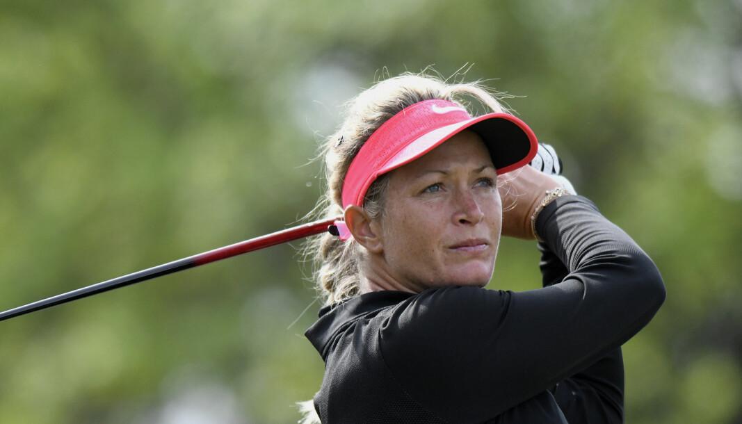 Suzann Pettersen er en aktivt startup-investor. Her fra LPGA Volvik Championship på Travis Pointe Country Club i 2017.