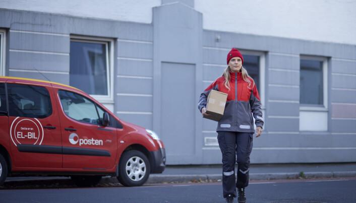 Like raskt, bare grønnere! I Oslo leveres nå alle pakker hjem med elbil. Ambisjonen er å levere grønt i alle i byer i Norge i løpet av 2021.