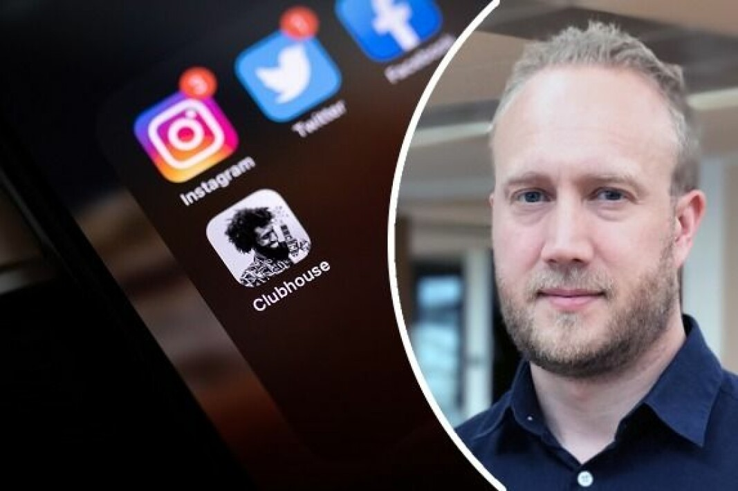 Francis Lundh, Head of Product & Tech Office i Schibsted.