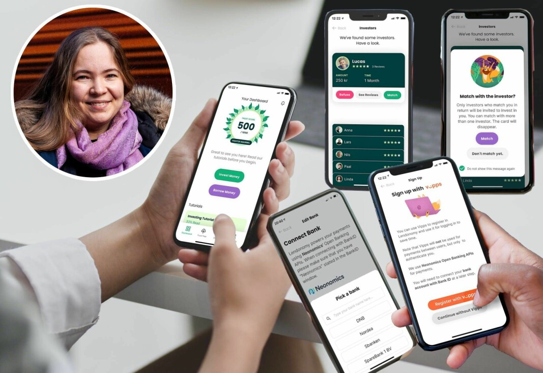 Anzhelika Osmanovas Lendonomy-app har hentet inspirasjon og teknologi fra mange steder