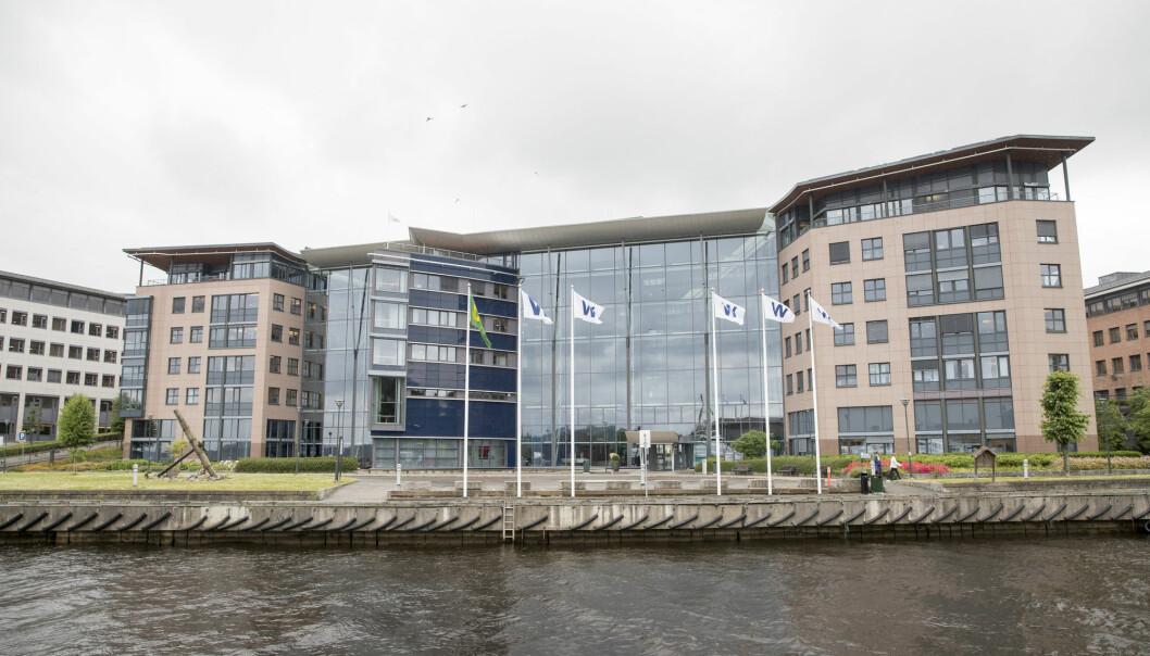 Oslo  20170710. Wilh. Wilhelmsen (WW)  er en global, maritim industrigruppe med lokaler p Lysaker Brygge. Foto: Terje Pedersen / NTB