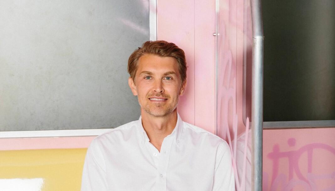 David Fock, global produktsjef i Klarna