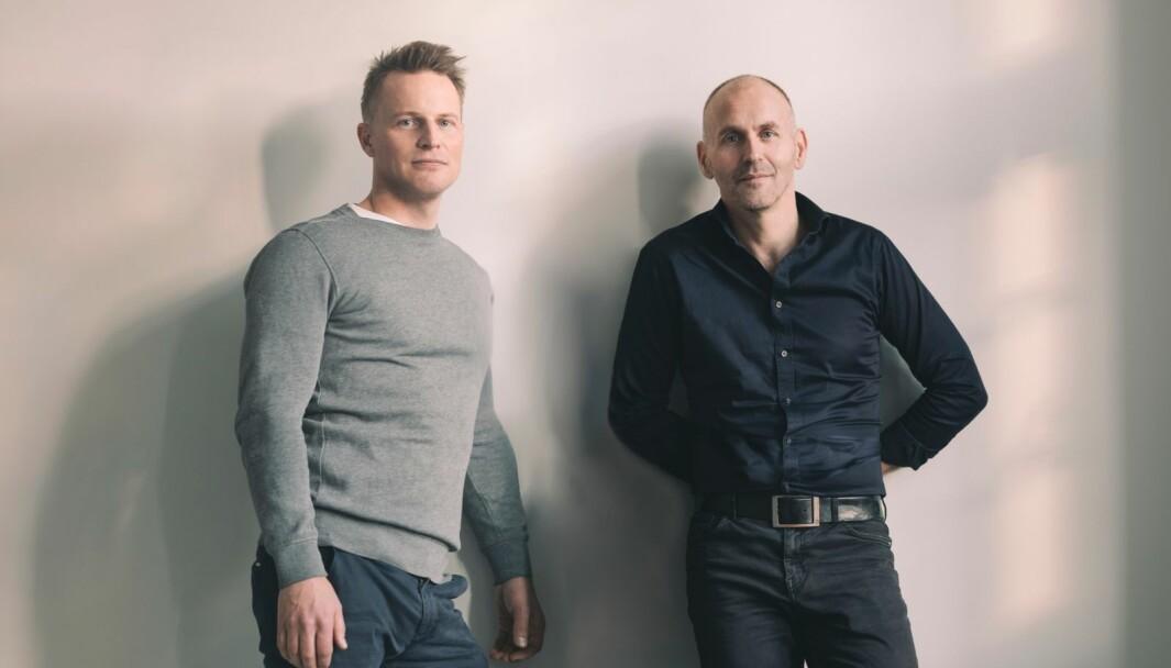 Henning Meier og Svein Øverland i Overvinne App