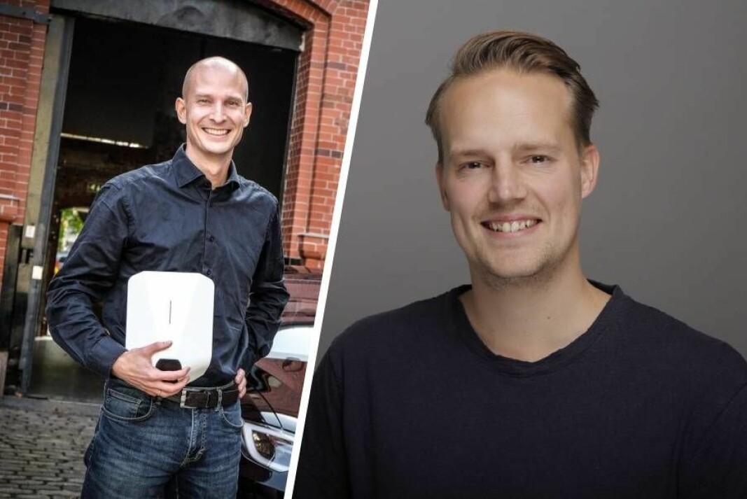 Edgeir Vårdal Aksnes (t.v.) har ansatt Rens Schoorl til å lede satsingen i Nederland.