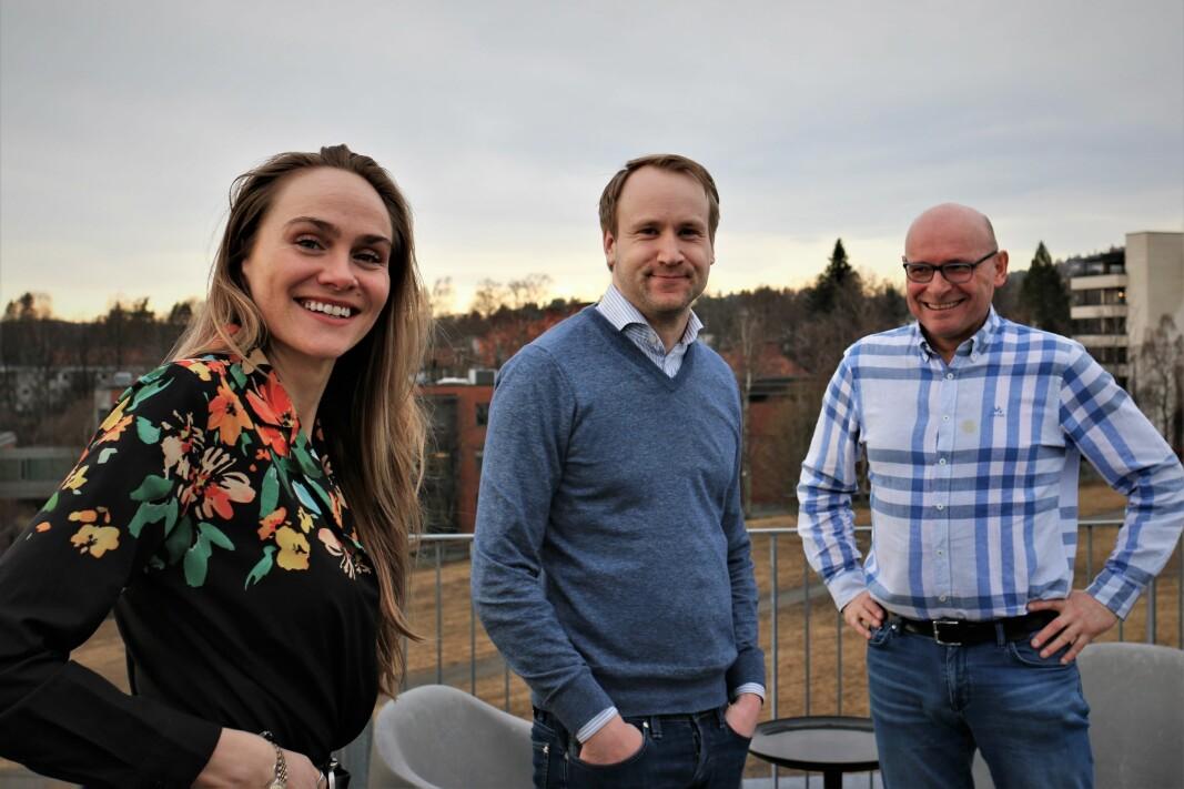 Lauga Oskarsdottir har teamet opp med Magnus Nordseth og Geir Førre i Firda. Nå satser investeringsselskapet tungt på startups.