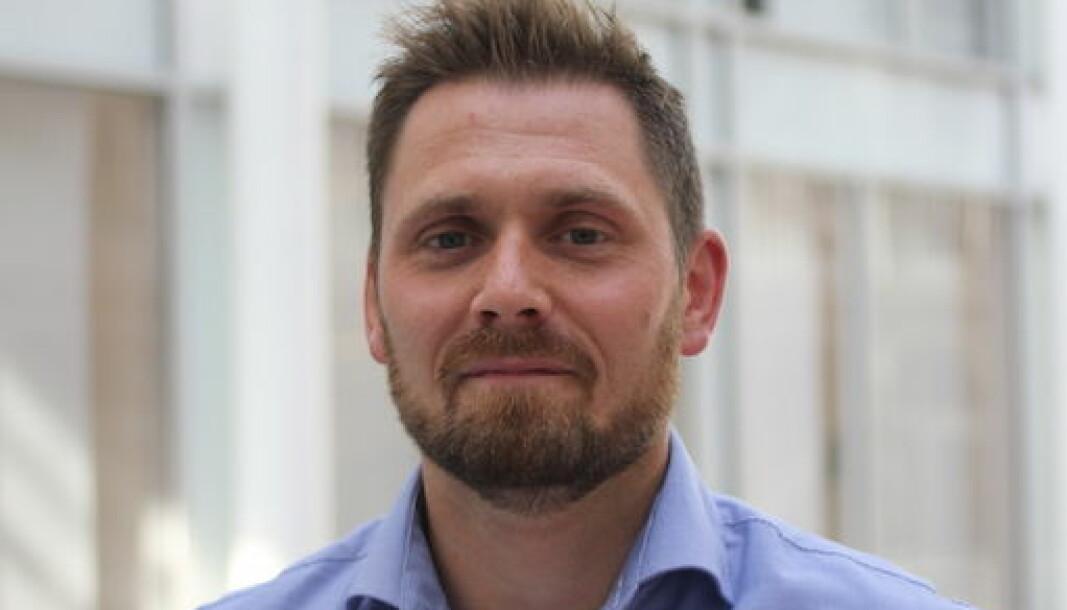 Ardoq-sjef og medgründer Erik Bakstad.