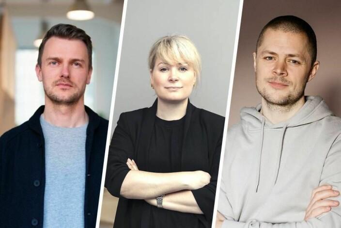 Tre anerkjente designledere: Slik velger du rett designbyrå til å utvikle merkevareidentiteten din