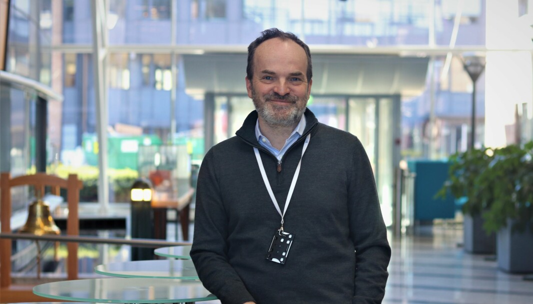 Finansdirektør i Wilhelmsen, Christian Berg