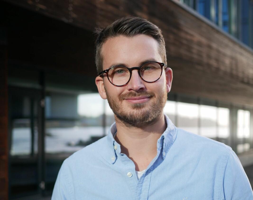 Gründer og daglig leder Nikolai Strandskogen i ShiftX.