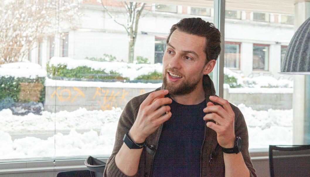 Daniel Caetanya Fossum, gründer av Mingl.