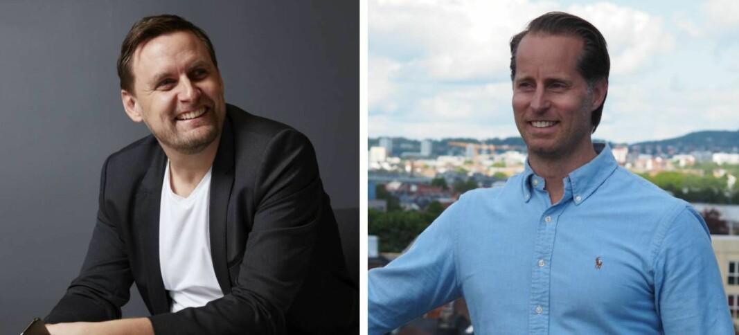 Rune Mai, daglig leder i Nordic API Gateway og Christoffer Andvig, daglig leder i Neonomics kan begge melde om nye kontrakter.
