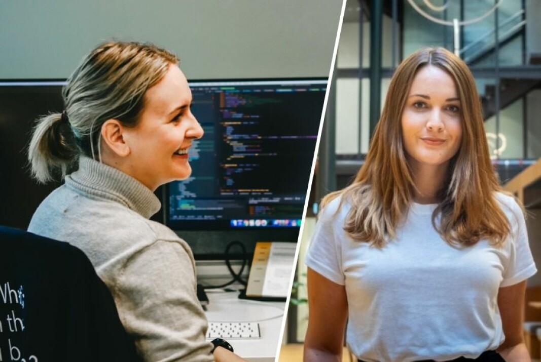Utvikler Anlaug Underdal i Airthings og rekrutteringsgründer Stine Therese Andreassen i Wa.Works deler sine beste tips for å tiltrekke seg teknologer.