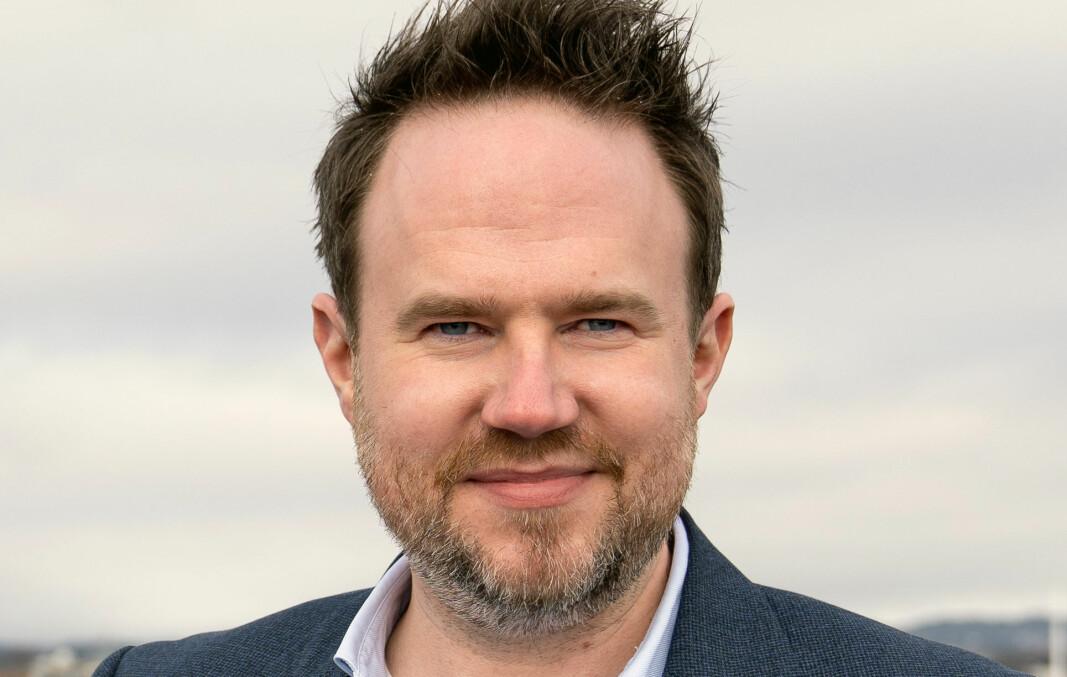 Daglig leder John Øyvind Kårikstad i Forte Digital.
