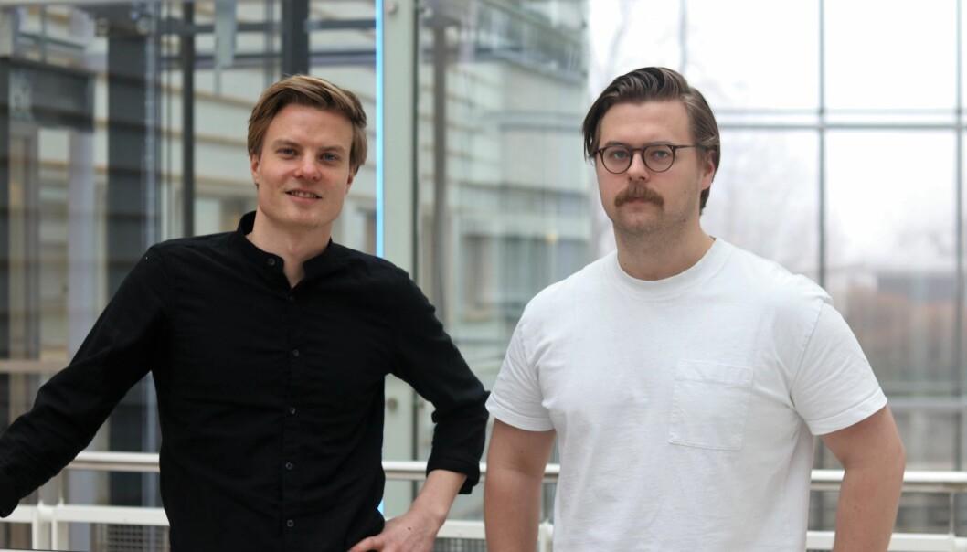 Elias Ottosen og Erik Skaar i Tilit forsikring