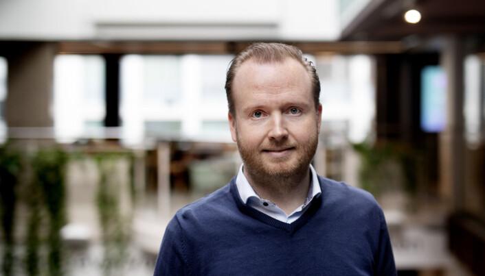 Fredrik Muri Slettestøl, Product Manager i teamet for produktutvikling.