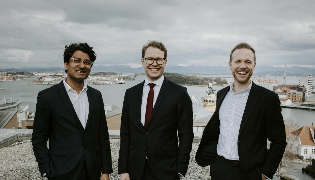 Murshid Ali, Murshid, Øyvind Vesterdal og Petter Selvikvåg Berge i Norsk Solar.