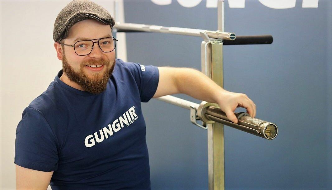 Daglig leder og patentekspert i Gungnir, Markus Leonhard Hasen.