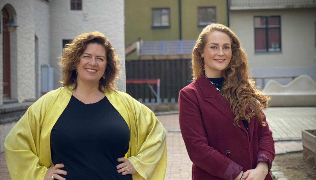 Styreleder Anniken Fjelberg og daglig leder Anine Willums Karp i 657 Oslo.