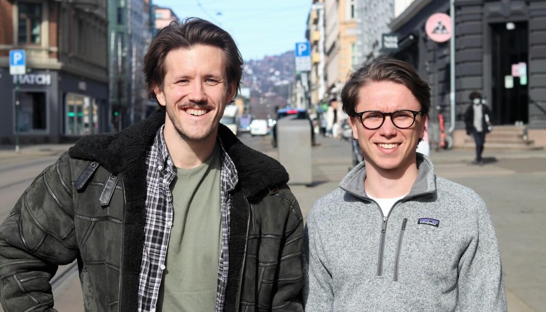 Jacob Nelvik og Markus Halvorsen i Glede.