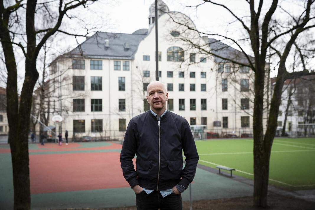 Sindre Holme i Tackl.