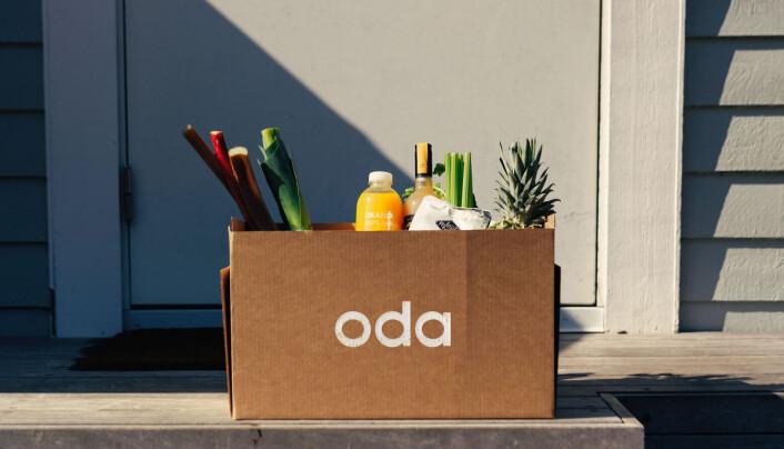 """Slik ser den nye logoen til """"Kolonial""""/ Oda ut"""