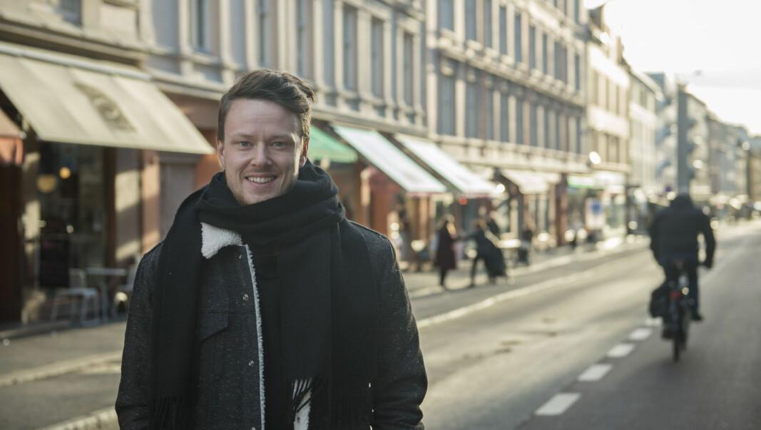 Merkevaredirektør og medgründer Mats André Kristiansen i Kolonial.no, nå Oda.