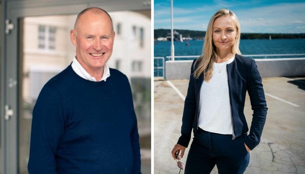 Erik Edvard Tønnesen i Skagerak Maturo og Ingrid Teigland Akay i Hadean Ventures. Begge forteller om stor vilje blant investorer til å plassere penger i venturefond.
