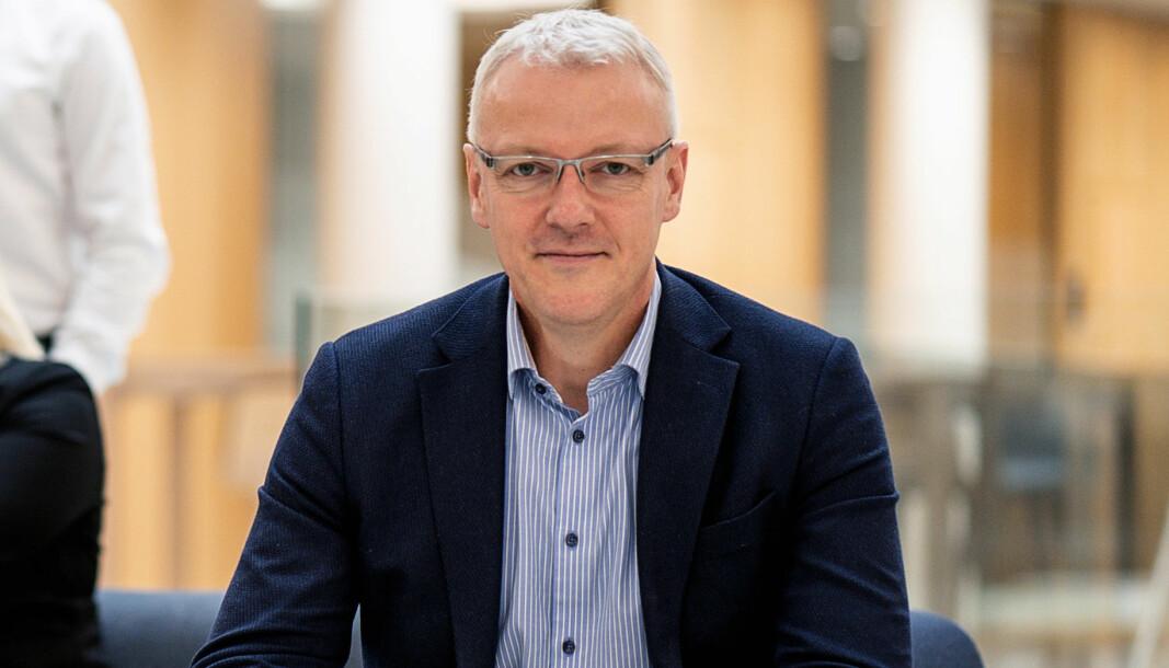 Torvald Kvamme, administrerende direktør i Bulder Bank.