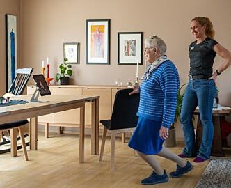 Slik kan roboten bidra til aktivitet og mindre ensomhet for eldre