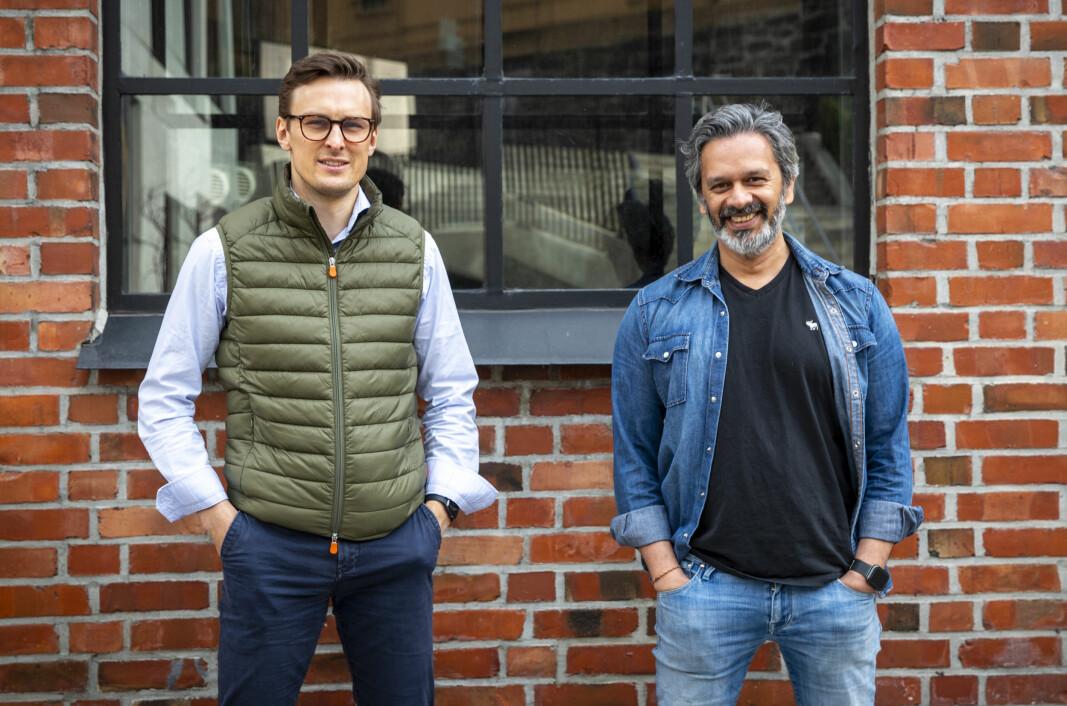 Simen Woxmyhr og Wasim Rashid jakter det neste store proptech-selskapet med Alligate.