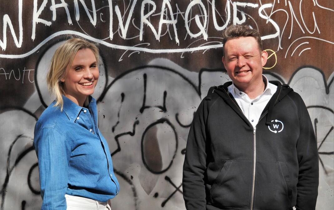 Karin Berg er ny vekstsjef i Wanda.space. Hun og gründer Lars Syse Christiansen regner med å ekspandere ut av Norge i år.
