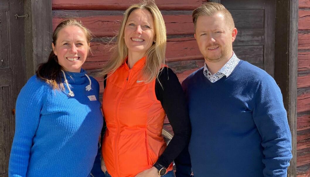 Siden 2016 har Mette Kristensen, Elin Årseth og Thomas Aas Kittilsen jobbet med å utvikle Klimb. Nå vil de på tur i den store verden.