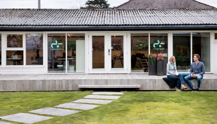 Entreprenørene hos Samfunsentralen holder hus i egne lokaler tilknyttet TDVeen