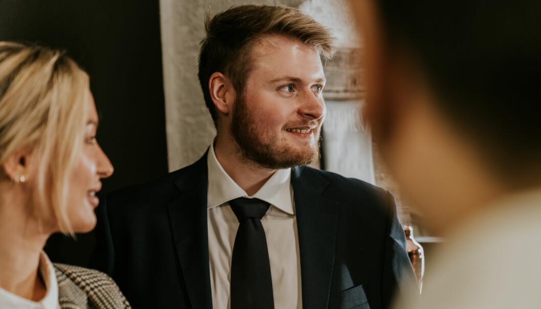 Senior utvikler Jesper M. Førisdahl.