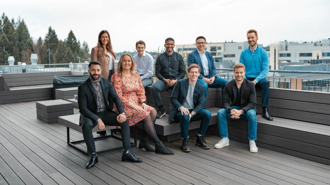 Teamet bak Svenn: Lotte Solli-Østensen, Sondre Staavi, Ashenafi Abdissa, Ole Jørgen Næss, Christopher Krohn, Hussam Jaelah, Anniken Wæck Røiri, Sondre Blaasmo, Anders Hamstad.