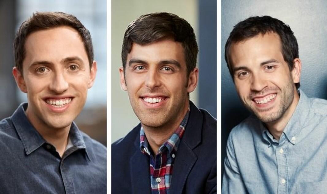 Gründerteamet i Clever, f.v. CEO Tyler Bosmeny, CPO Dan Carroll og CTO Rafael Garcia, skal fortsatt lede selskapet etter oppkjøpet.