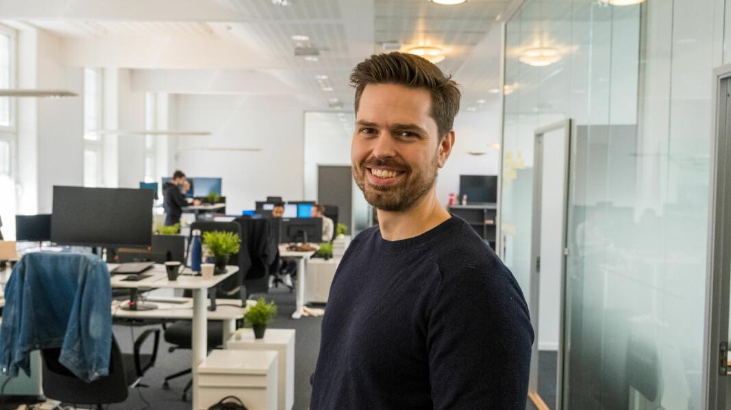 Alf Gunnar Andersen, daglig leder i Horde og styreleder i Fintech Norway.