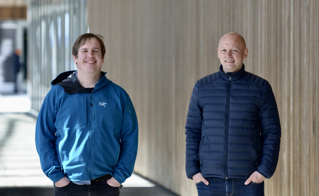 """Kevin Simons og Sigurd Seteklev (t.h.) er """"nyeksaminert"""" fra Y Combinator."""