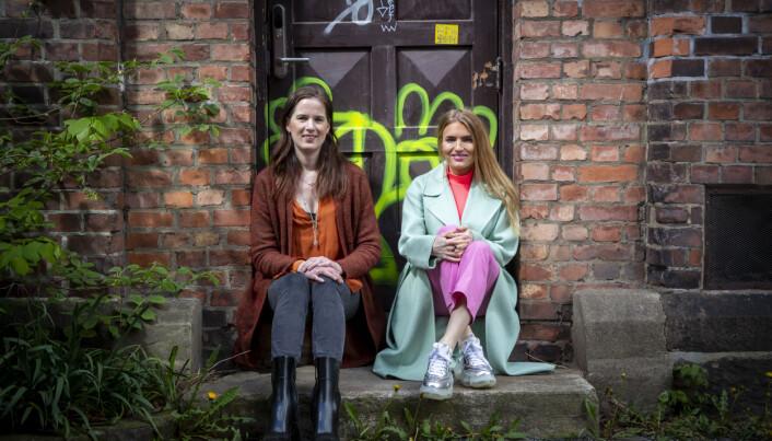 Isabelle Ringnes (t.h.) og Marie Louise Sunde, som sammen har startet Equality Check.